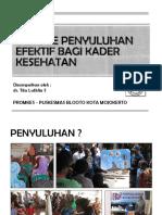 METODE PENYULUHAN EFEKTIF BAGI PETUGAS KESEHATAN DAN KADER.pdf