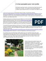 Façons de recruter le bon paysagiste pour votre jardin