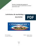 analiza swot a firmei Danone