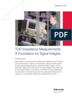 TDR impedance measurement
