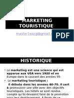 Cours Marketing Touristique