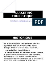 Cours Marketing Touristique