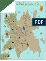 The Realms of Terrafornia Map