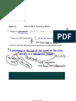 Algebra I Notes April 5