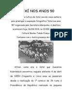 Texto Abertura - Jatai Nos Anos 50