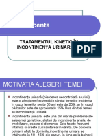 Model- Ppt Incontinenta Urinara de Efort