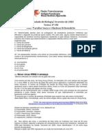 1º Simulado  de Biologia 2010 - 1º ano EM
