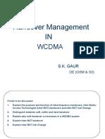 WCDMA Handover