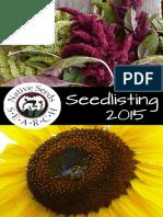 Seedlisting Catalog