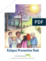 anxiety - relapse prevention pack