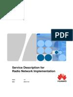 Service Description for Radio Network Implementation