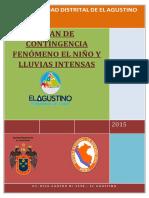 PLAN de CONTINGENCIA Fenomeno Del Niño Final