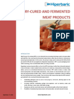 WP Cured and Fermented Meat - Hiperbaric 20141