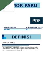 Tumor Paru - Dini