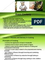 Basic Cookery