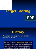 Target Costing Presen.tation Final