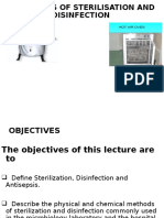 STERILIZATION-DISINFECTION and DISINFECTANTS ppt | Sterilization