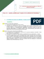 Fiche 211- L'Actualité de l'Analyse de La Solidarité de Durkheim