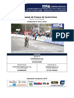 Championnat de France de cyclo-cross Juniors messieurs 2016