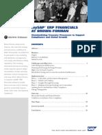 Case SAP ERPBrownForman