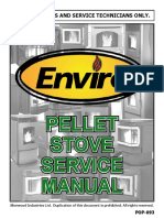 C-12145 Instruction PELLET Service Manual