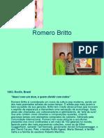 Apresentando o trabalho do artista Romero Britto