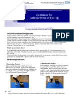 176 Exercises for OA of Hip v1