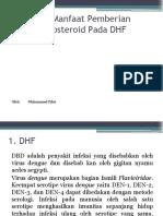 Refrat Manfaat Pemberian Kortikosteroid Pada DHF