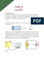Efecto Joule y Electrocución