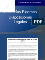 Disposiciones Auditoria EXternas