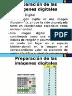 Preparación de las imágenes digitales