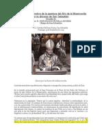 Mons. Munilla Jubileo de La Misericordia