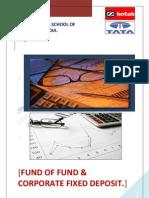 Mutual Fund vs Corporate fixed deposite