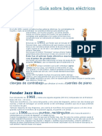 Bajos Fender