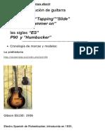 Guitarras Elect