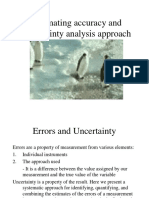 5 Estimating Accuracy and Uncertainty Analysis Approach- Week 5