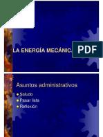 La Energia Mecanica