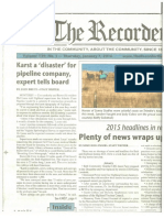 The Recorder-Volume 139, No 1