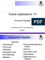 Oracle Accounts Payable