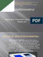Spectofotometrul