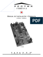 Paradox 1759EX Programacion