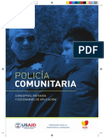 GUIA PARA POLICIA COMUNITARIA