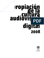 Convocatoria apropiación de la cultura audiovisual y digital 2008