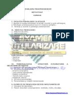 Sinteze grade didactice - Consiliere Definitivat 2016