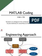 Mat Lab Coding