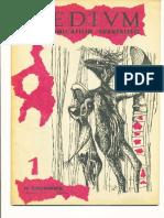 «Médium», No.1, Nouvelle Série, Novembre 1953