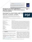 Management and Control Applications in Agriculture Domain via a Future Internet Business-to-Business Platform