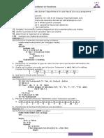 Procédures Et Fonctionsprocedure