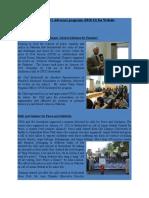 Brief Reports of CPCS's Advocacy (2010-11)