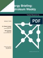 US Petroleum Weekly January 7 2016